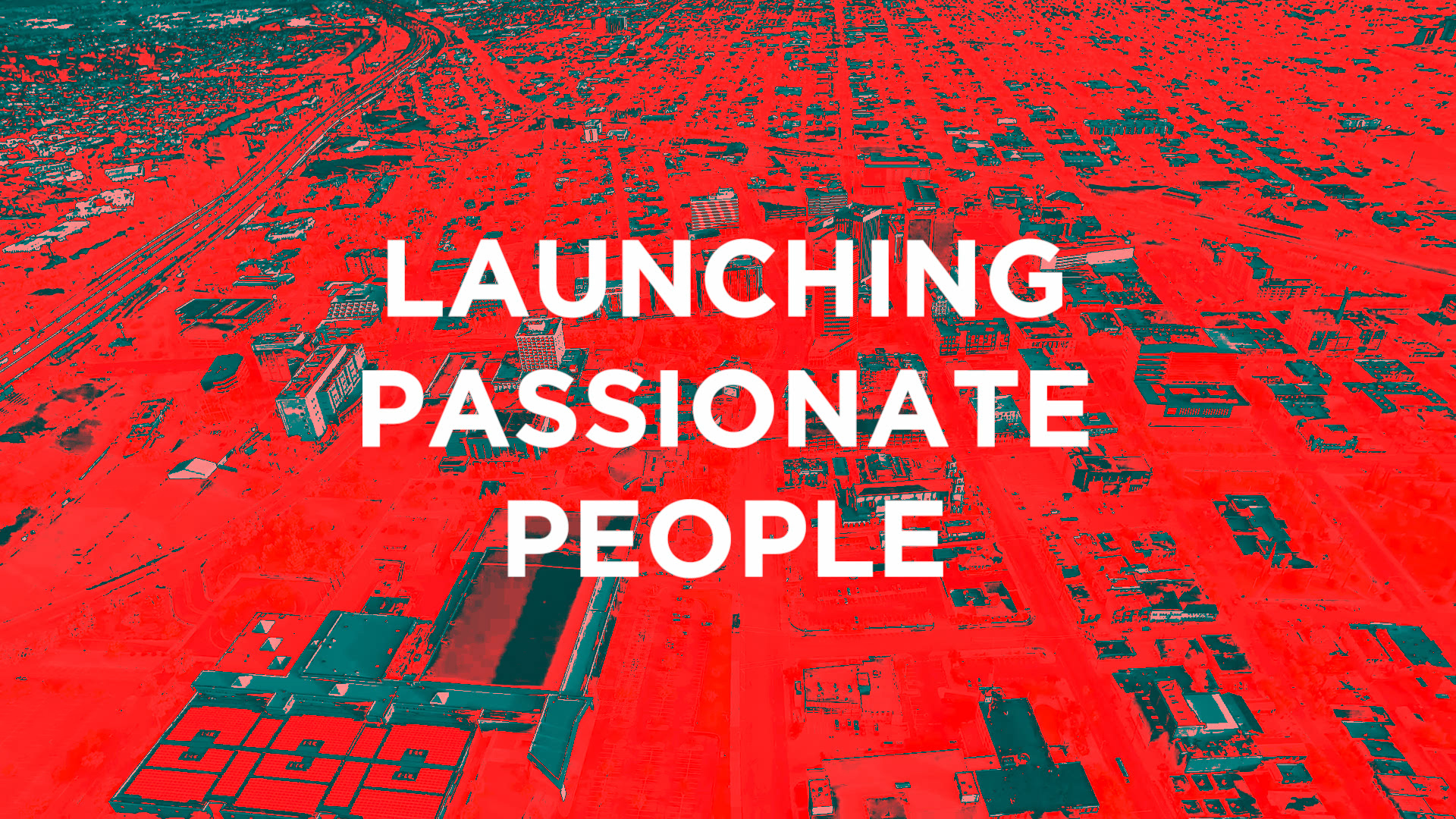 Launching Passionate People 2019